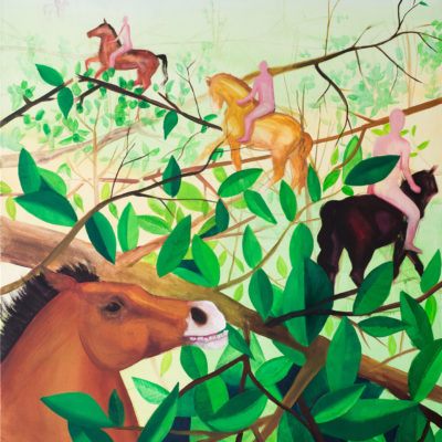 Gauguin horses