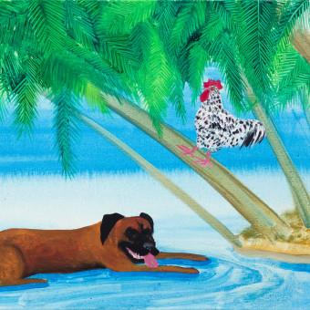 Animals on vacation