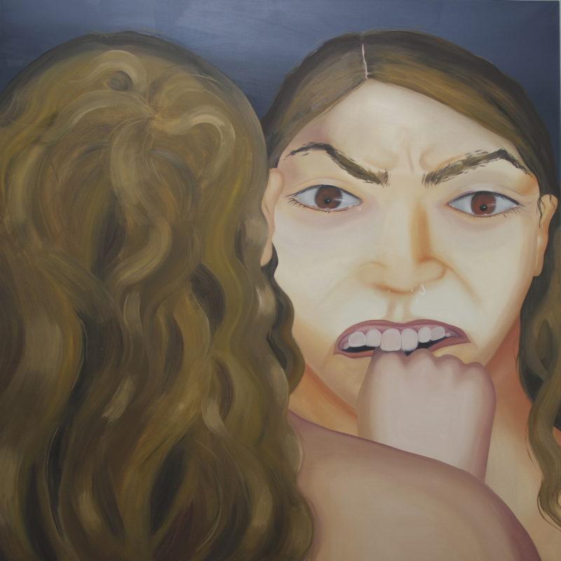 Self-portrait / 150x150/oil on canvas/2018
