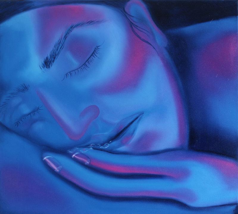 sleeping / 45x50/oil on canvas/2020