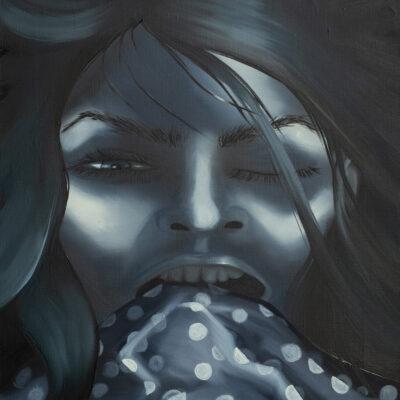 sleeping portrait/dark
