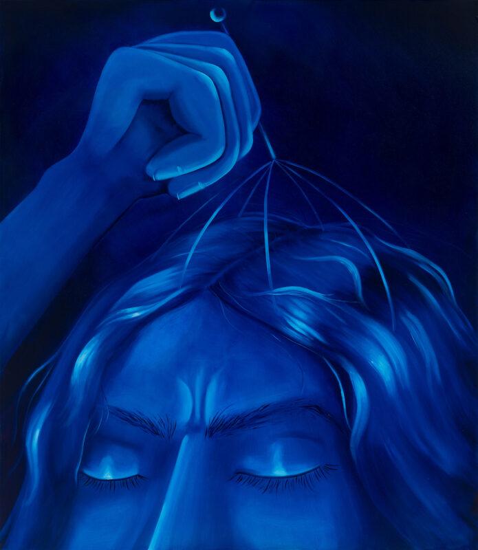 Massage / 150x130cm/oil on canvas/2021